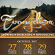Evangelism Church Flyer - GraphicRiver Item for Sale