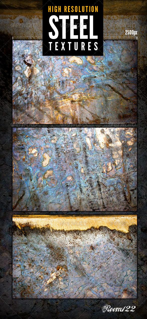 Industrial Grunge Steel Textures - Metal Textures