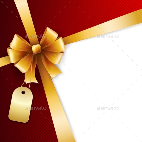 Gift Bow - Backgrounds Decorative
