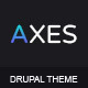 Axes | Multipurpose One/Multipage Drupal Theme Nulled
