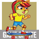 Kitty Skate Board Game Sprite - GraphicRiver Item for Sale