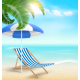 Beach with Palm - GraphicRiver Item for Sale