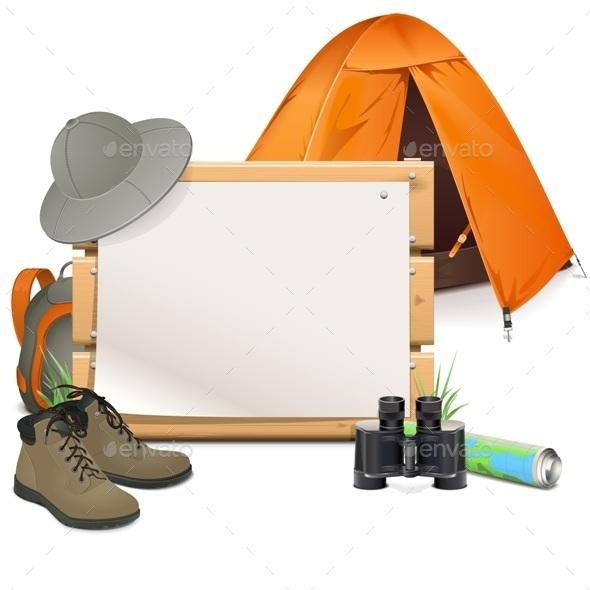 Scouting Board - Travel Conceptual