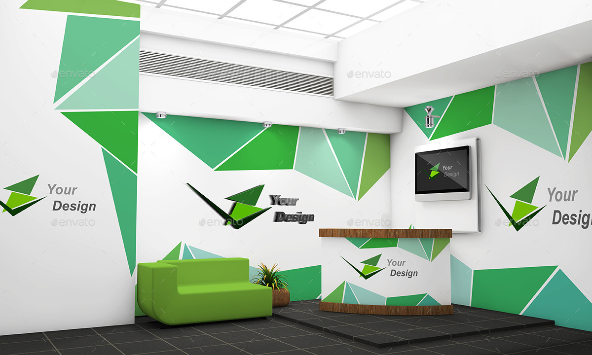 Office branding mock up by sbcreation graphicriver for Office branding ideas