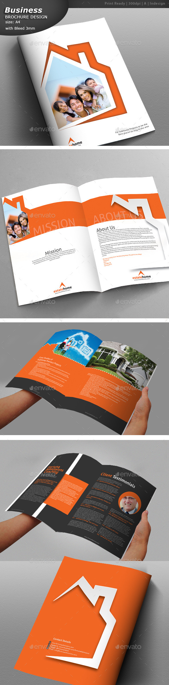 Real Estate Brochure - Church Flyers