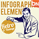 Vintage & Retro Style Infographic - GraphicRiver Item for Sale