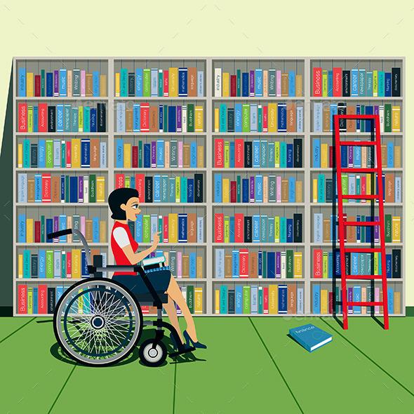 Bookshelf - People Characters