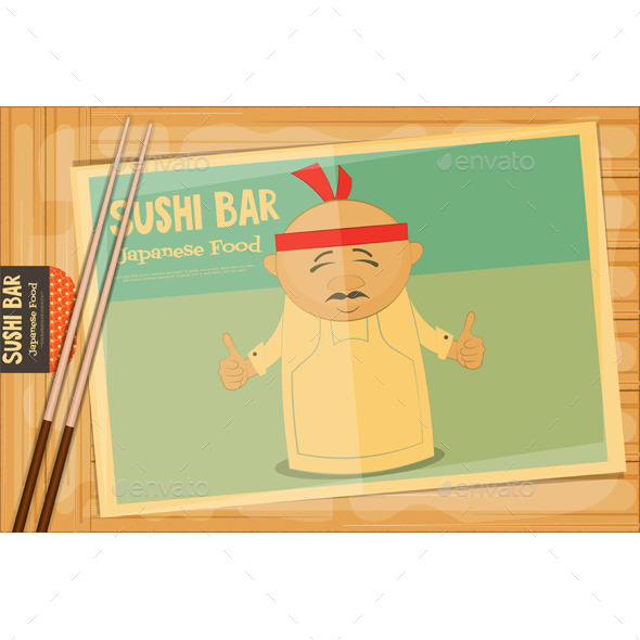 Sushi - People Characters