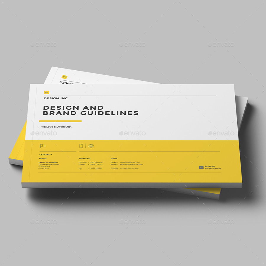 Brand Manual by egotype – It Manual Templates to Download