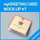 myGreeting Card Mock-up v7 - GraphicRiver Item for Sale
