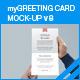 myGreeting Card Mock-up v8 - GraphicRiver Item for Sale
