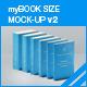 myBook Size Mock-up v2 - GraphicRiver Item for Sale