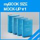 myBook Size Mock-up v1 - GraphicRiver Item for Sale