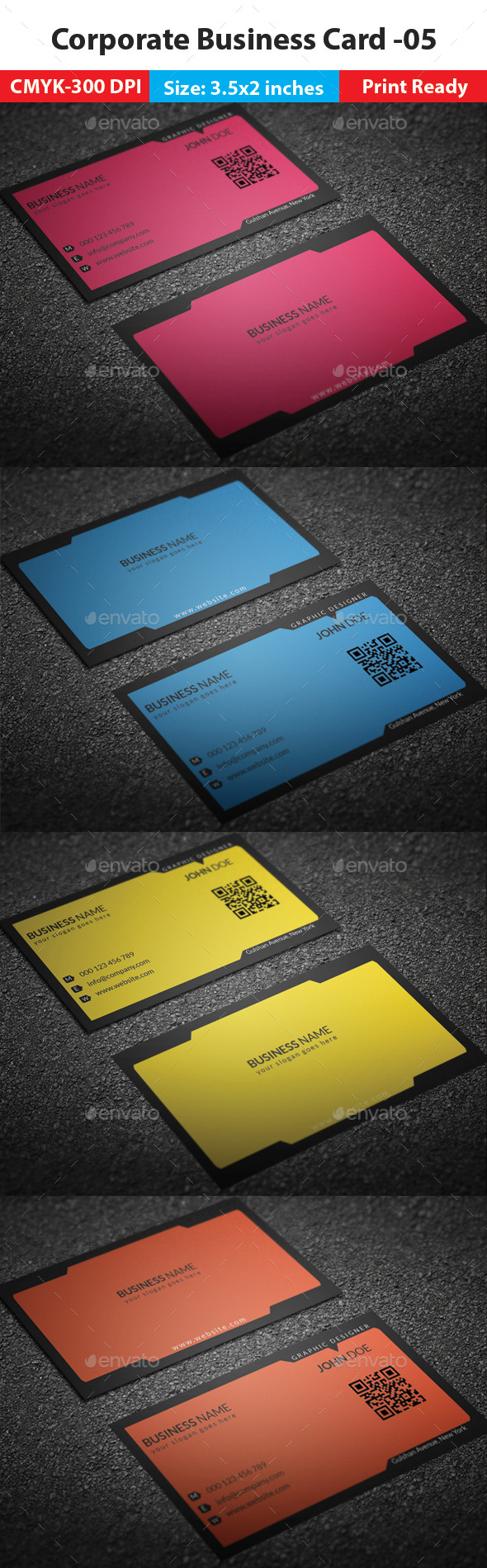 Corporate Business Card -05 - Corporate Business Cards