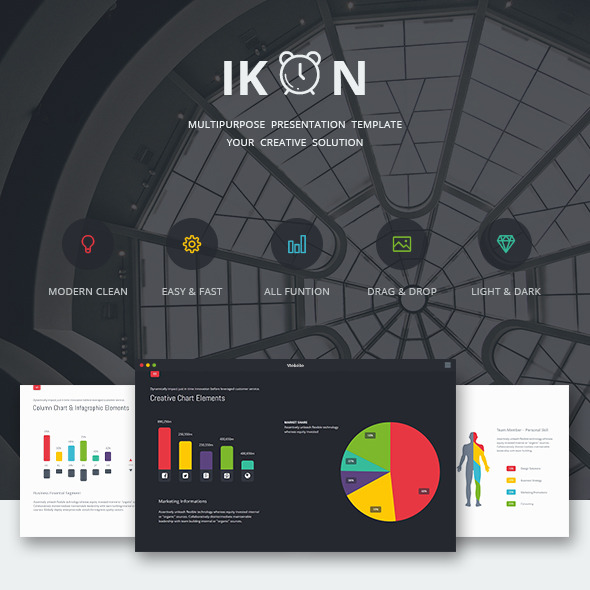 Ikon multipurpose presentation template by simplesmart graphicriver ikon multipurpose presentation template business powerpoint templates toneelgroepblik Gallery