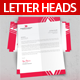 Letterheads Print Template - GraphicRiver Item for Sale