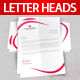 Letterheads Template - GraphicRiver Item for Sale
