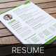 Resume & Cover Letter Template v9 - GraphicRiver Item for Sale