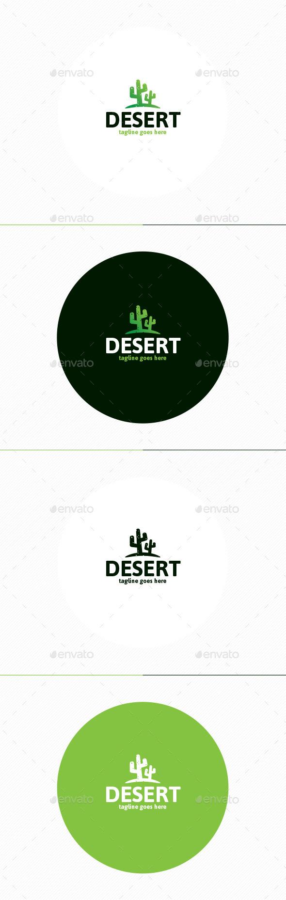 Desert Logo - Nature Logo Templates