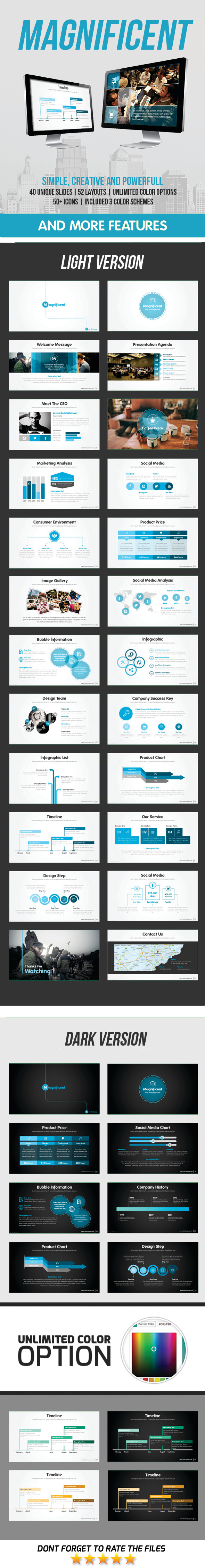 Magnificent PowerPoint Template - Business PowerPoint Templates