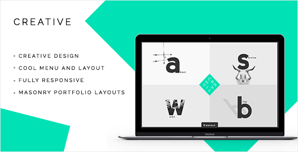 Creative – Portfolio & Agency WordPress Theme