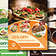 Food Flyer V2 - GraphicRiver Item for Sale