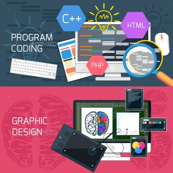 Program Coding And Graphic Design - Web Technology