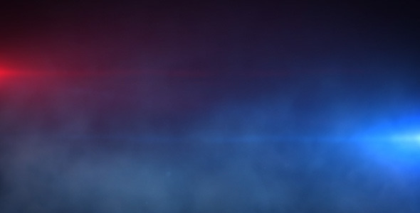 Police Lights With Fog By Nispo Videohive