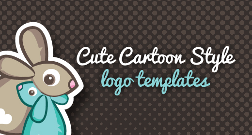 Cute Cartoon Style - Logo Templates
