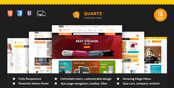 MT Quartz Magento Theme