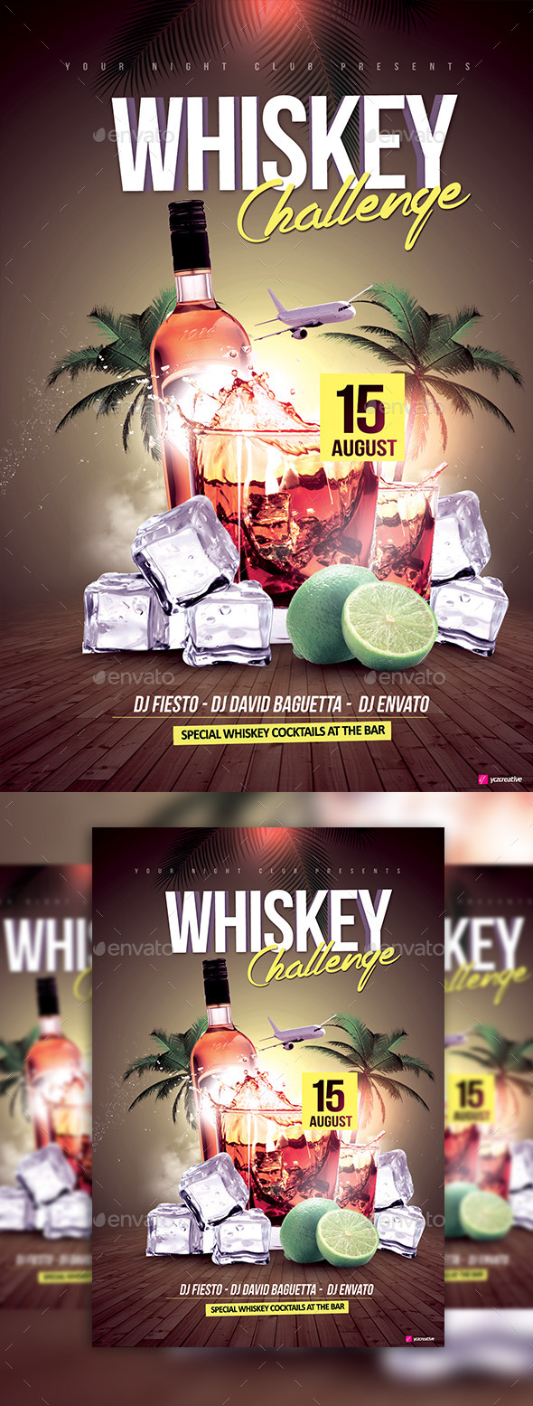 The Whiskey Challenge - Clubs & Parties Events