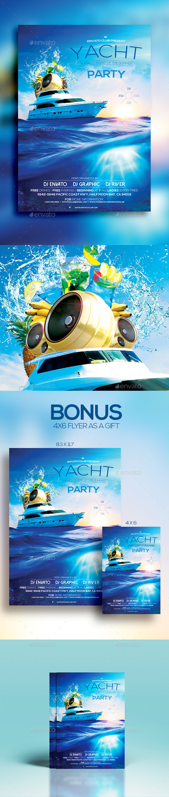 Yacht Party - Clubs & Parties Events