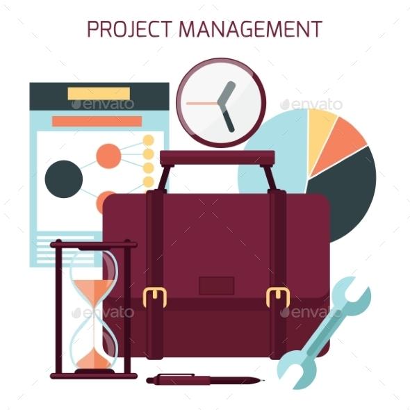 Project Management Concept - Concepts Business