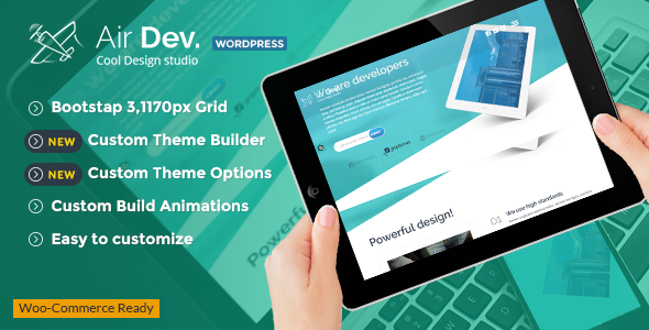 AirDev – Responsive WordPress Theme
