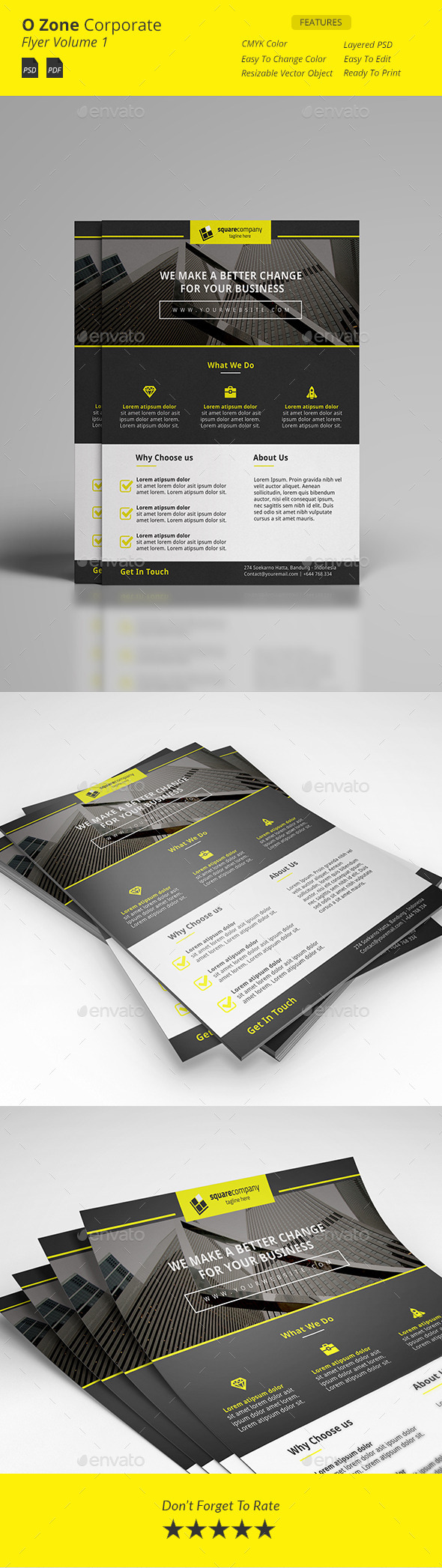 Wan Corporate Flyer - Corporate Business Cards
