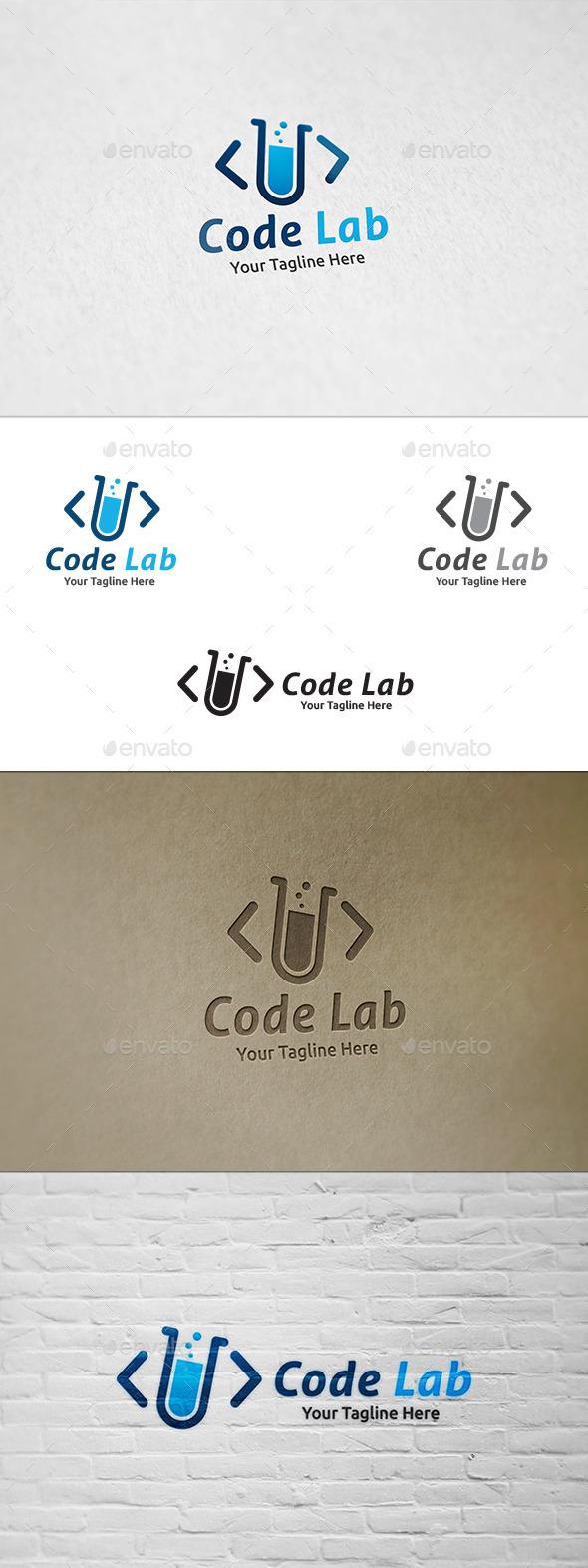 Code Lab - Logo Template - Symbols Logo Templates