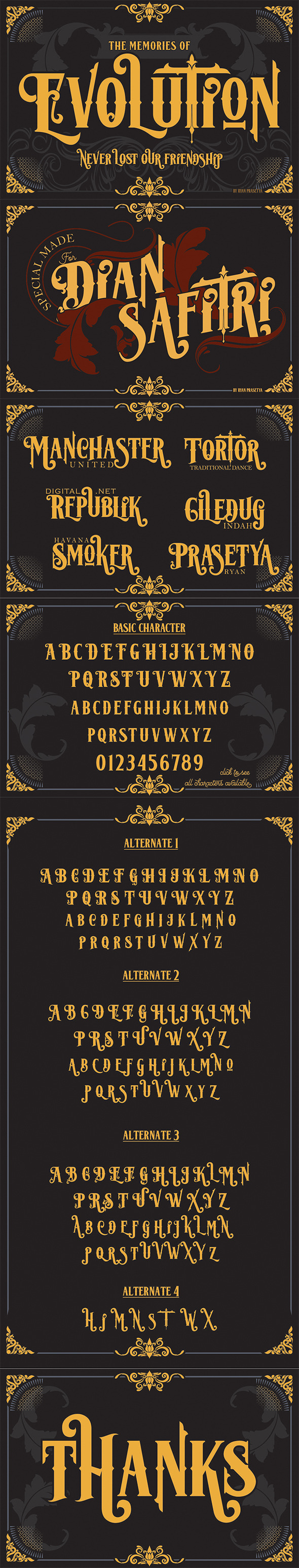 Lost Volution - Decorative Fonts
