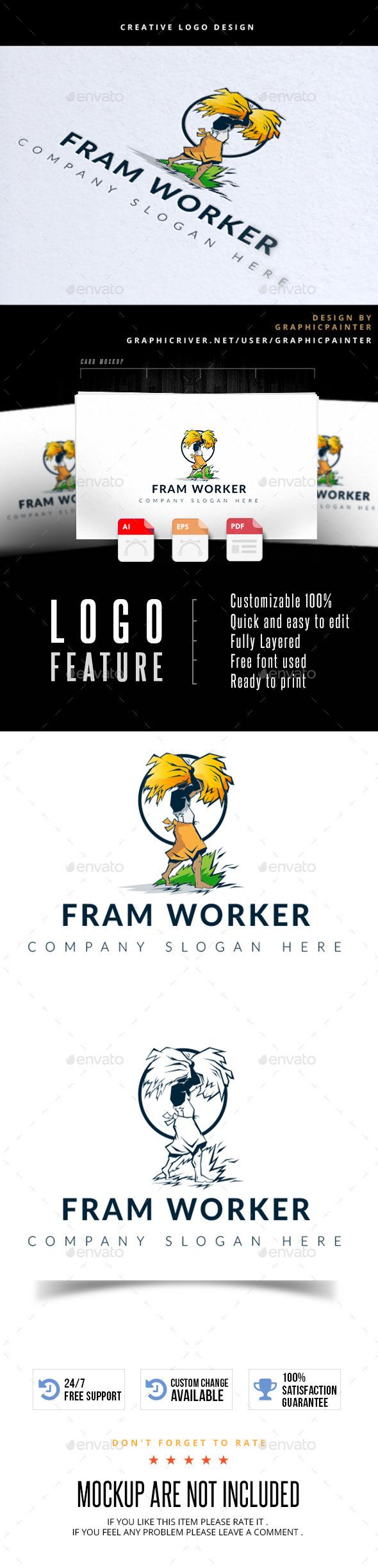 Fram Worker - Logo Templates