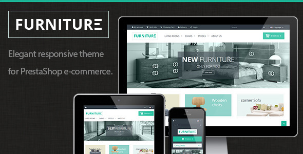 Furniture – elegant responsive PrestaShop theme