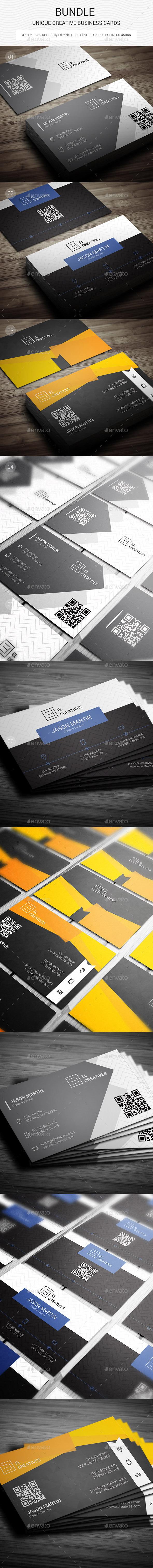 Bundle - Creative Business Cards - 122 - Creative Business Cards