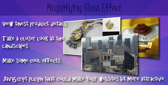 Magnifying Glass Effect - CodeCanyon Item for Sale
