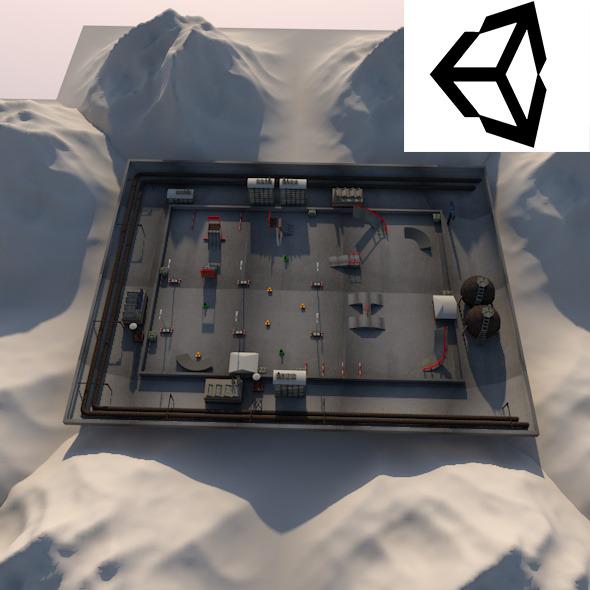Racetrack - 3DOcean Item for Sale