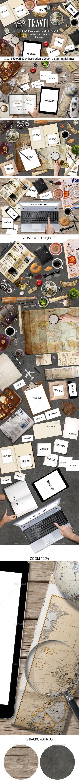 Travel Hero Image Scene Generators - Hero Images Graphics