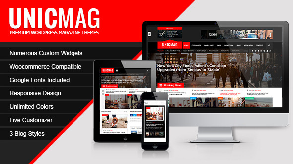UnicMag – WordPress Magazine Theme