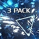 VJ Disco Tunnel with Lights - 3 Pack - VideoHive Item for Sale
