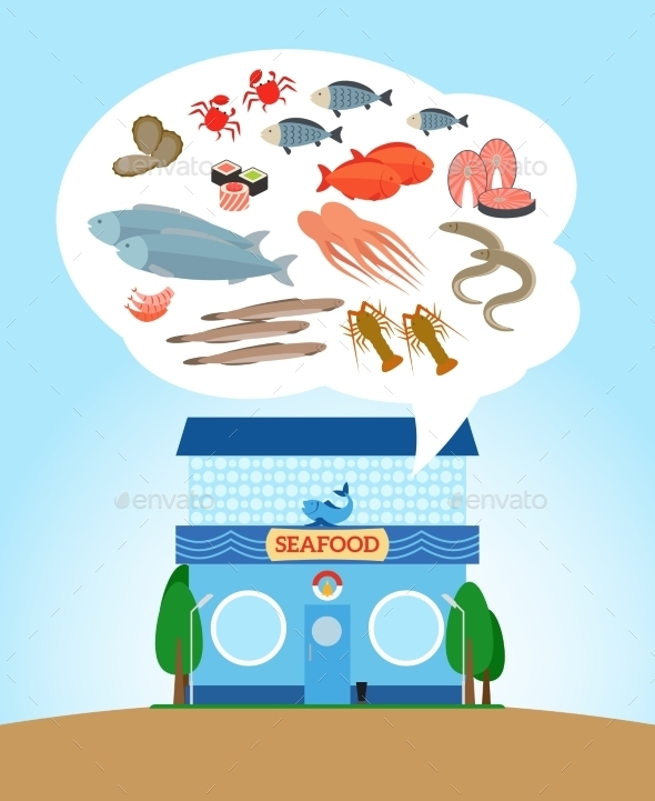 Seafood Store - Retail Commercial / Shopping