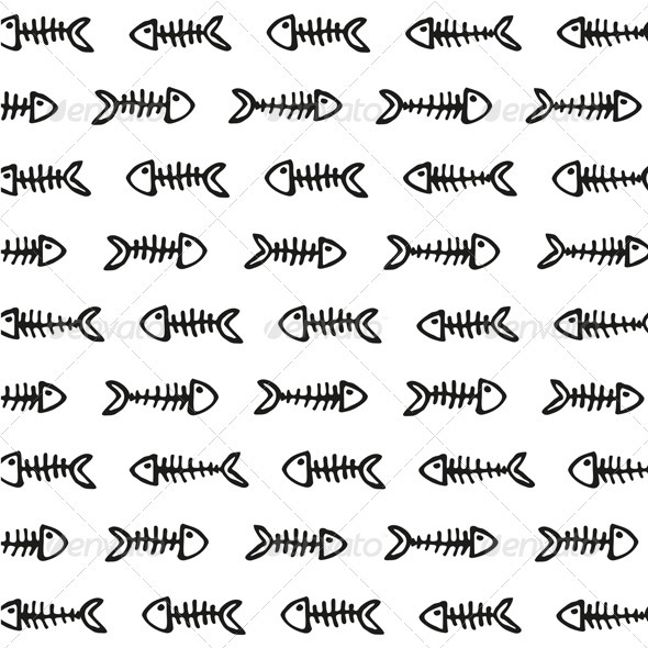 fishbones pattern - Patterns Decorative
