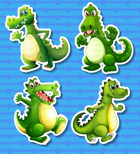 Green Dragon - Animals Characters