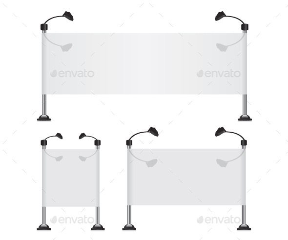 Billboard Banner Collection Set - Concepts Business