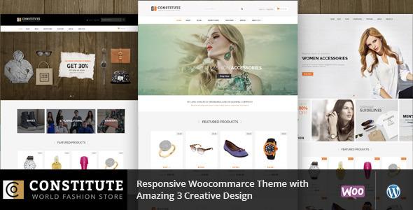Constitute – WooCommerce Responsive Theme